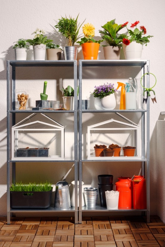 Ikea Mammut How To Rock Ikea Hyllis Shelves In Your Interior: 31 Ideas