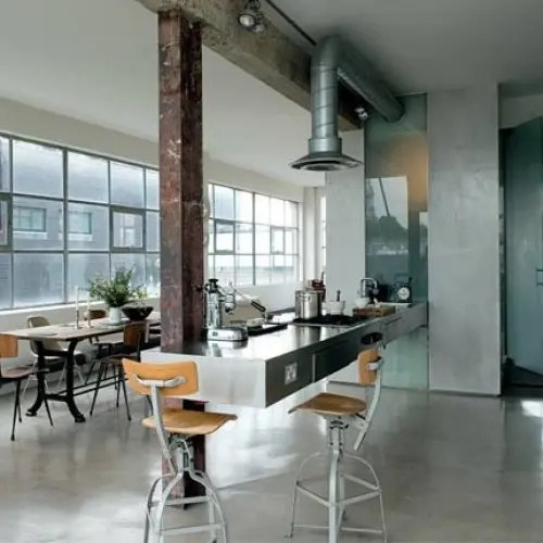 Deco Cuisine Style Industriel 59 Cool Industrial Kitchen Designs That Inspire - Digsdigs