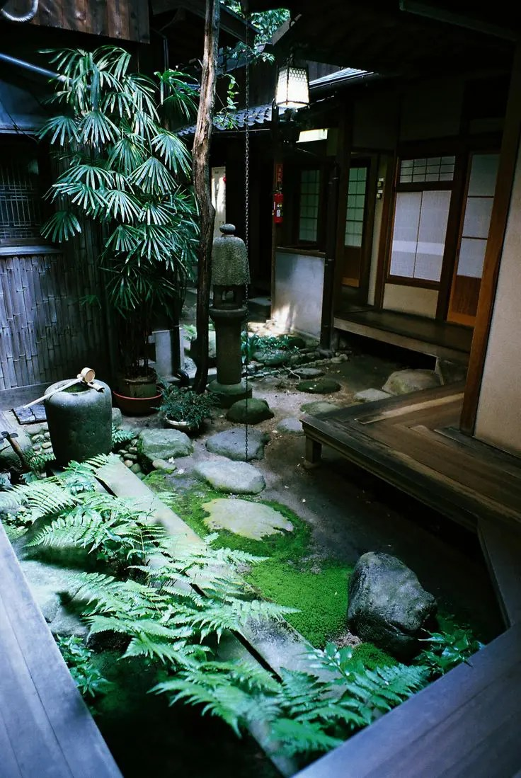 Home Japanese Garden 27 Calm Japanese-inspired Courtyard Ideas | Digsdigs