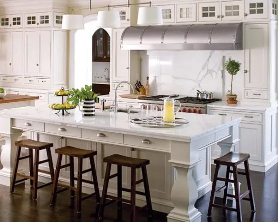 Kitchen Island Decorating Ideas 125 Awesome Kitchen Island Design Ideas - Digsdigs