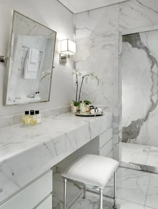 Keramik Toilet 48 Luxurious Marble Bathroom Designs - Digsdigs