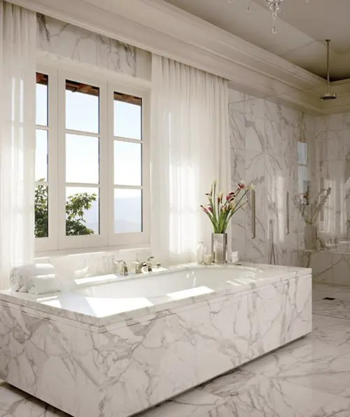 Retro Badewanne 48 Luxurious Marble Bathroom Designs - Digsdigs