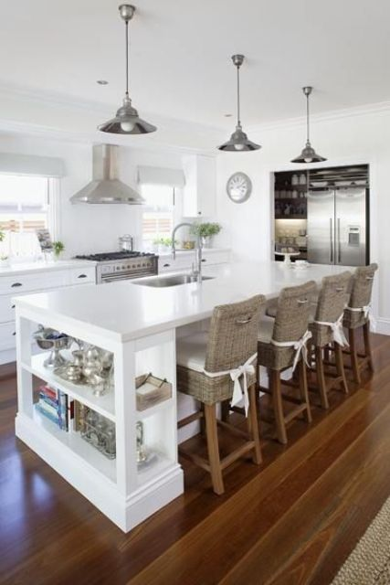 Beautiful Kitchens With Islands 26 Modern And Smart Kitchen Island Seating Options - Digsdigs