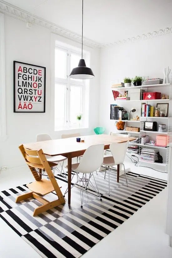 Tripp Trapp 26 Ways To Use Ikea Stockholm Rug For Home Decor - Digsdigs