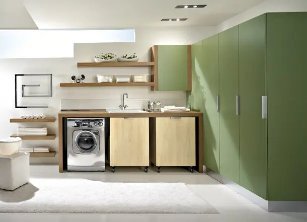 Rangement Sous Escalier Leroy Merlin Modern Laundry Room Design And Furniture From Idea Group