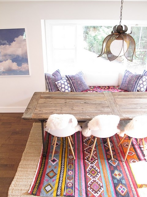 Style Ethnique Deco 39 Original Boho Chic Dining Room Designs - Digsdigs