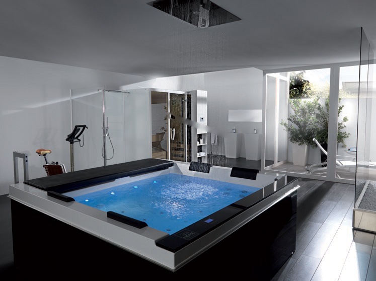 Badezimmer Mit Whirlpool High-tech Luxury Spa Tubs - Pacific From Systempool - Digsdigs