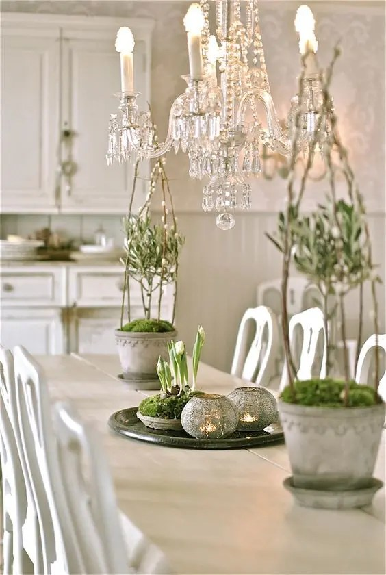 Table Simple 27 Peaceful Yet Lively Scandinavian Spring Décor Ideas