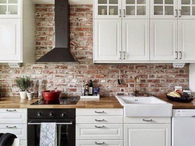kitchen backsplashes super practical stylish brick kitchen searches kitchen backsplashes pictures