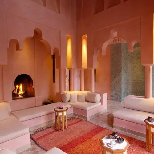 Wohnzimmer Interior Design Bathroom 51 Relaxing Moroccan Living Rooms - Digsdigs
