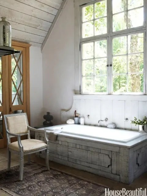 Rustikal Modern 44 Rustic Barn Bathroom Design Ideas - Digsdigs