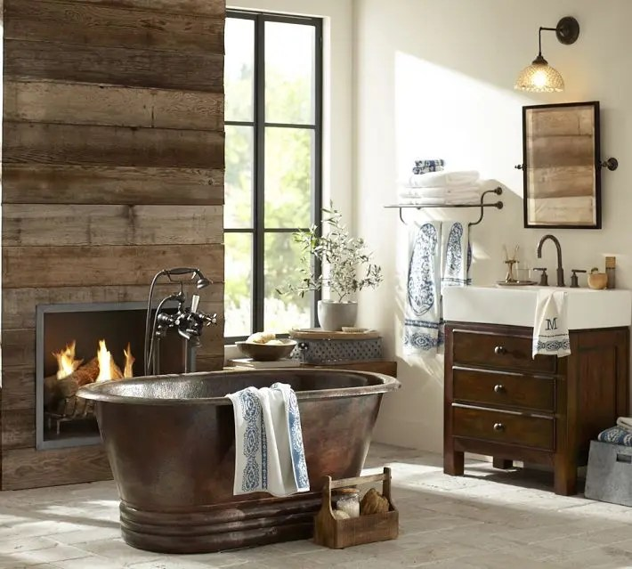 44 Rustic Barn Bathroom Design Ideas Digsdigs