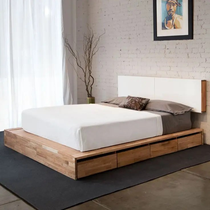 Tempat Tidur Modern 28 Simple And Elegant Mid-century Modern Beds | Digsdigs