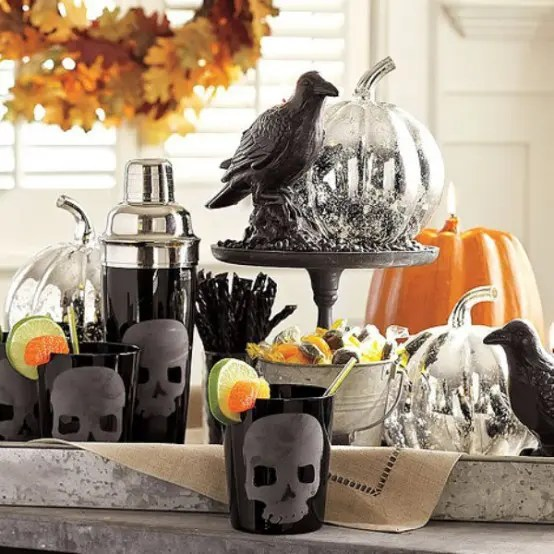 Ikea Indiana How To Decorate Your Halloween With Skulls And Skeletons
