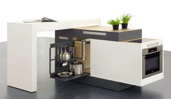 small modular kitchen created german designers kristin transitional eat kitchen multiple islands design ideas