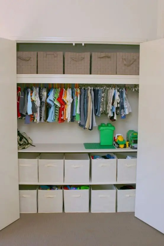 Ikea Pantry Storage 37 Smart And Fun Ways To Organize Your Kids' Clothes
