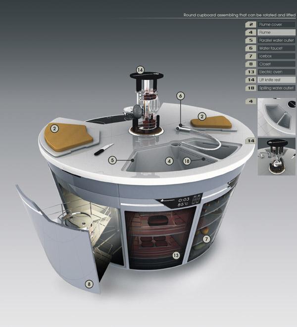 smart kitchen cupboard future digsdigs modern small kitchen designs smart ideas small kitchen designs