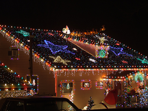 Decoration De Noel Exterieur Video Top 10 Biggest Outdoor Christmas Lights House Decorations