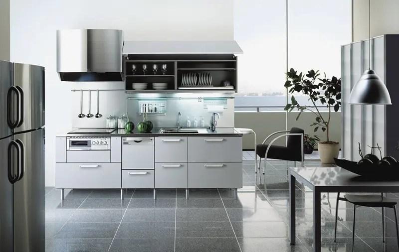 steel colored kitchen design tayokitchen digsdigs kitchen cabinets recycled kitchen design ideas