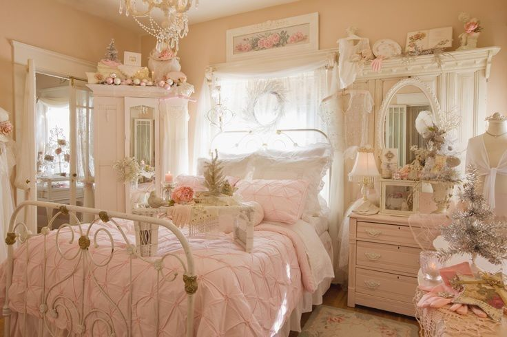 Shabby Chic Schlafzimmer 33 Sweet Shabby Chic Bedroom Décor Ideas | Digsdigs