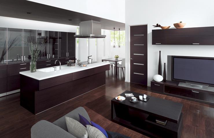combine kitchen living room cuisia toto digsdigs functional ideas kitchen living room design