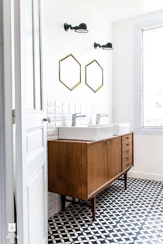 Lavabo Badkamer 35 Trendy Mid-century Modern Bathrooms To Get Inspired