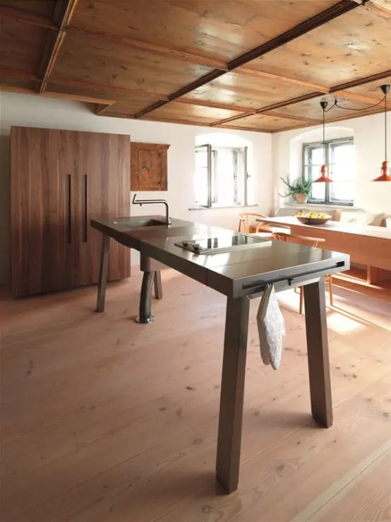 Kitchen Islands With Storage And Seating 64 Unique Kitchen Island Designs - Digsdigs