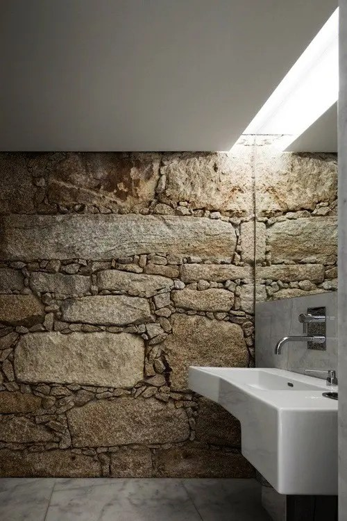 Cuarto De Baño Ikea 50 Wonderful Stone Bathroom Designs - Digsdigs