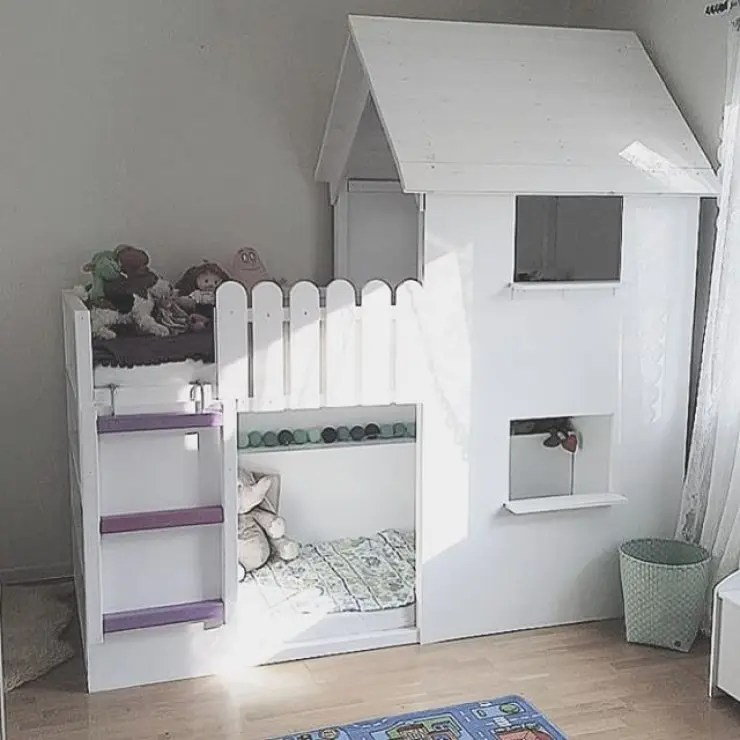 Hochbett Mädchen 45 Cool Ikea Kura Beds Ideas For Your Kids' Rooms - Digsdigs