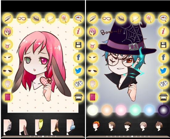 3d Wallpaper Maker App Cute Avatar Creator App Chibi Me Android