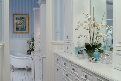 Bathroom design by Patricia Davis Brown Designs