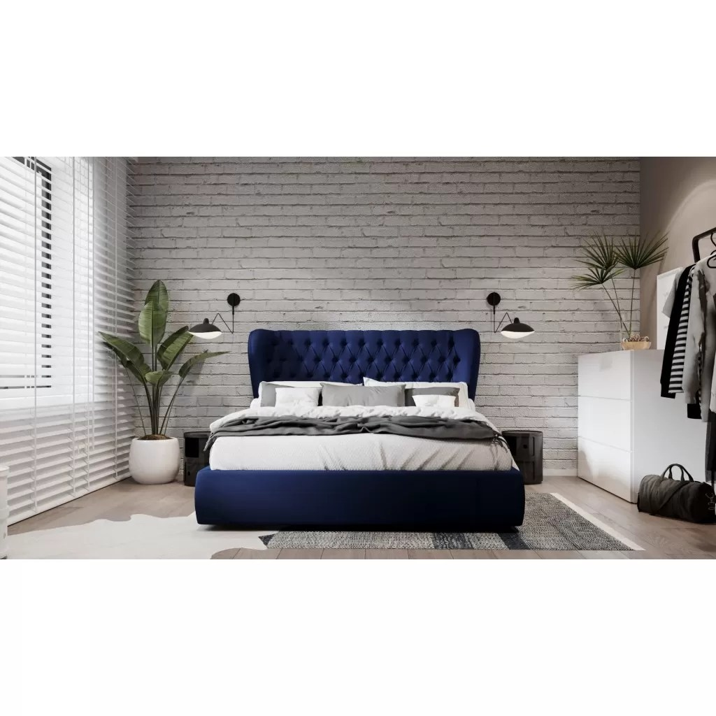 Double Bed Zurich Fabric Bed Frame Quality