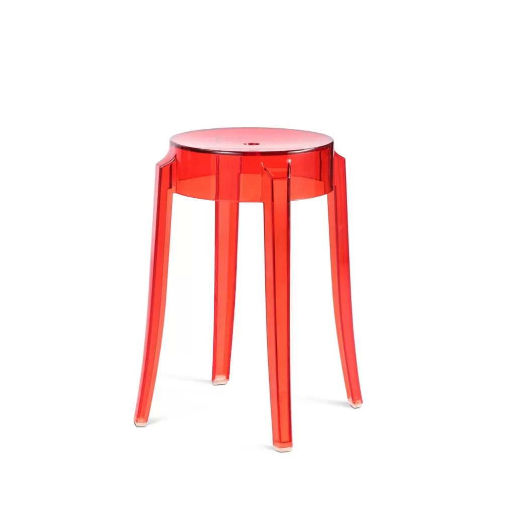 Tabouret De Bar Starck Tabouret Charles Ghost Kartell Philippe Starck Reproduction