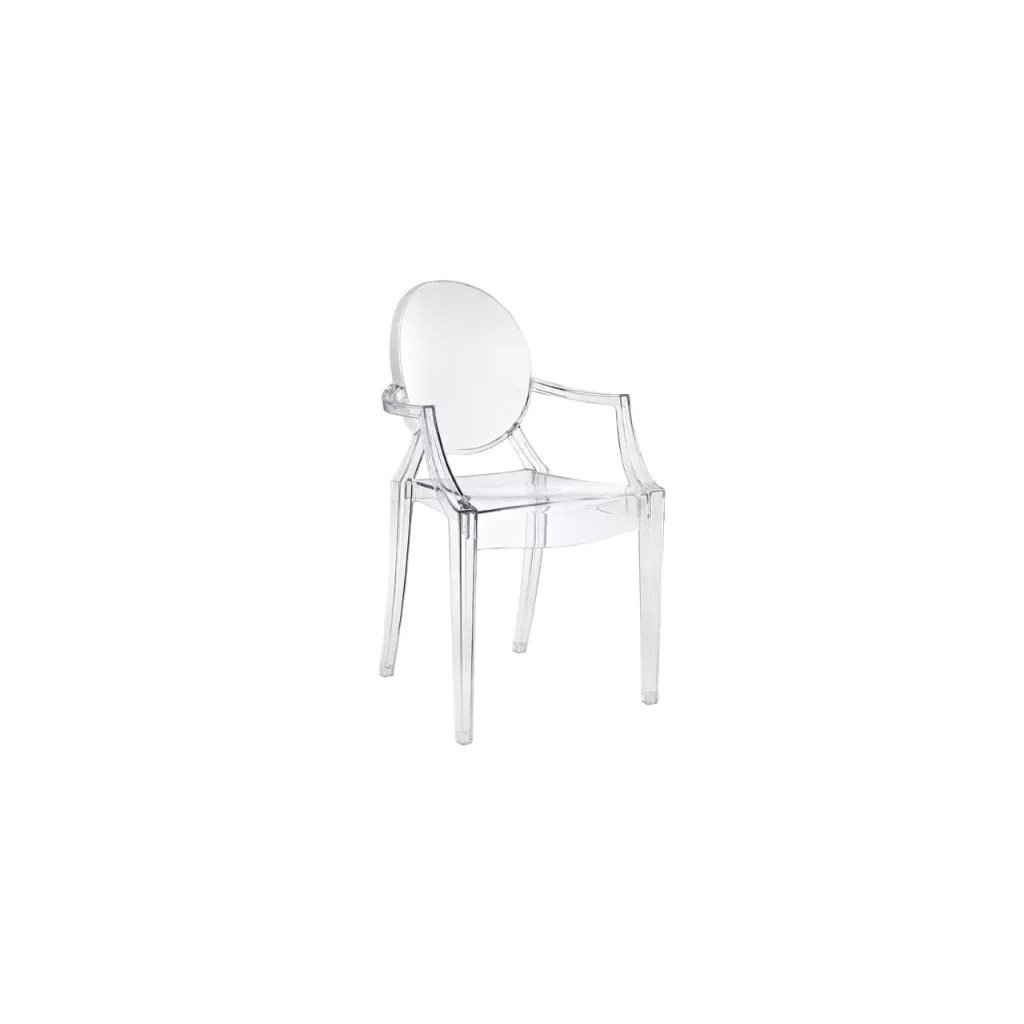 Silla Ghost Philippe Starck Chaise Louis Ghost Kartell Reproduction Philippe Starck