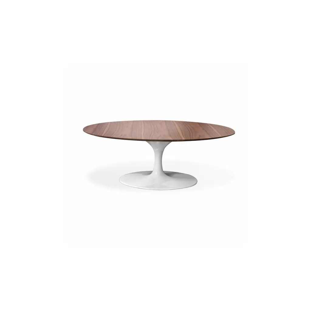 Table Ovale Saarinen Knoll Oval Coffee Table Tulip Reproductie Eero Saarinen