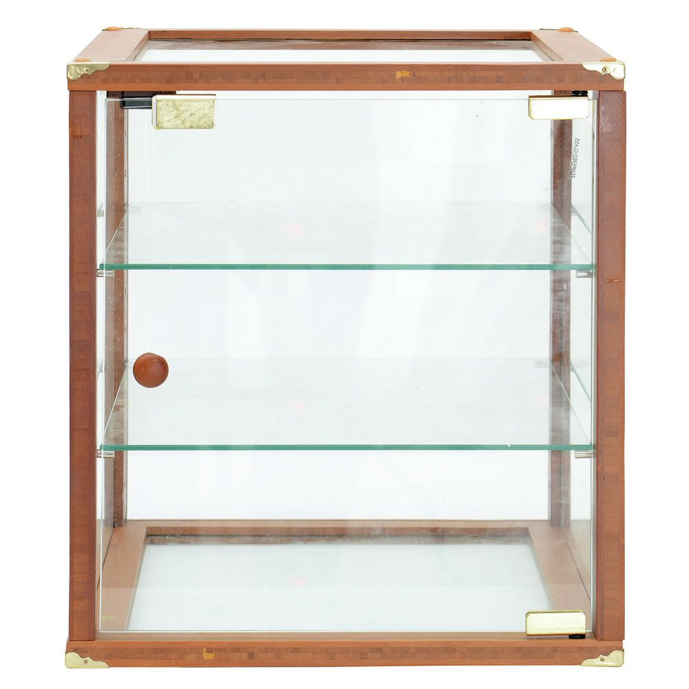 Countertop Food Display Case Expressly Hubert Oak Wood And Glass Countertop Bakery Display Case 15