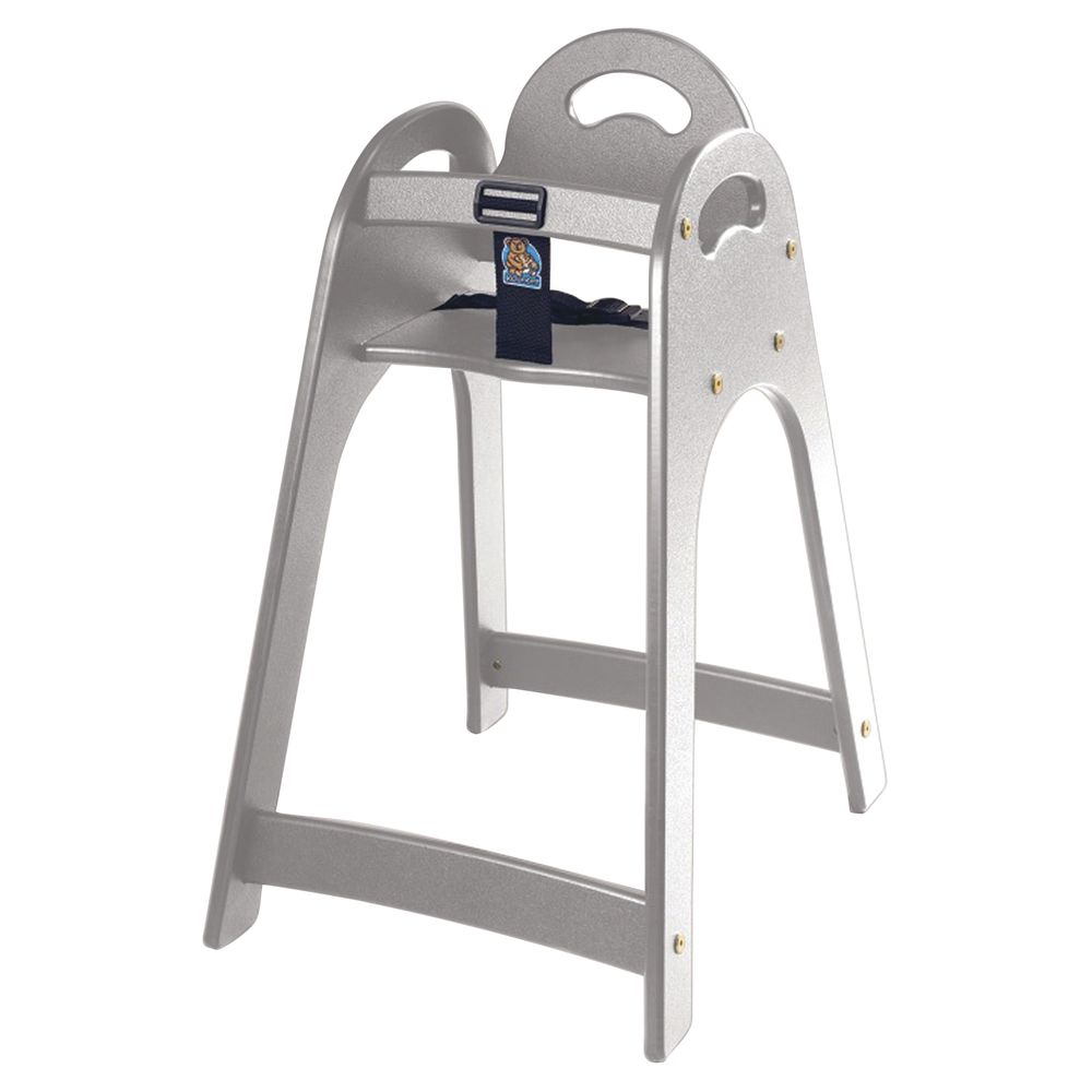 Designer High Chair Koala Kare Grey Plastic Designer High Chair 16 3 4