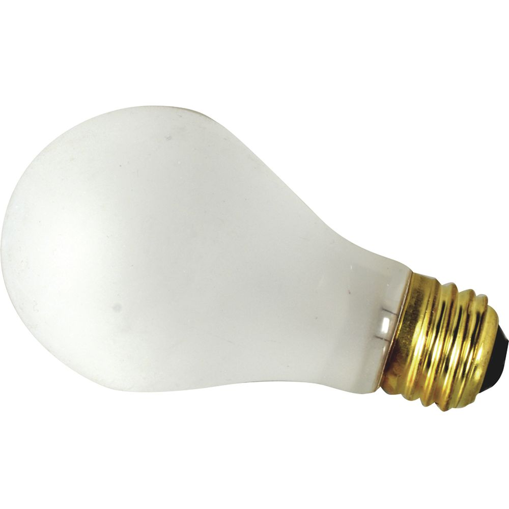 60w Light Bulb Fmp Frosted Glass 60 Watt Shatterproof Incandescent Light Bulb