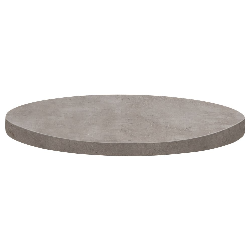 Round Table Tops Grosfillex Round Grey Resin Polymers Table Top 36