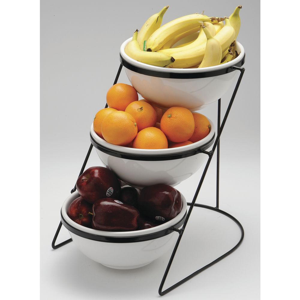 Wire Fruit Bowls Black Wire Fruit Stand With Three 10