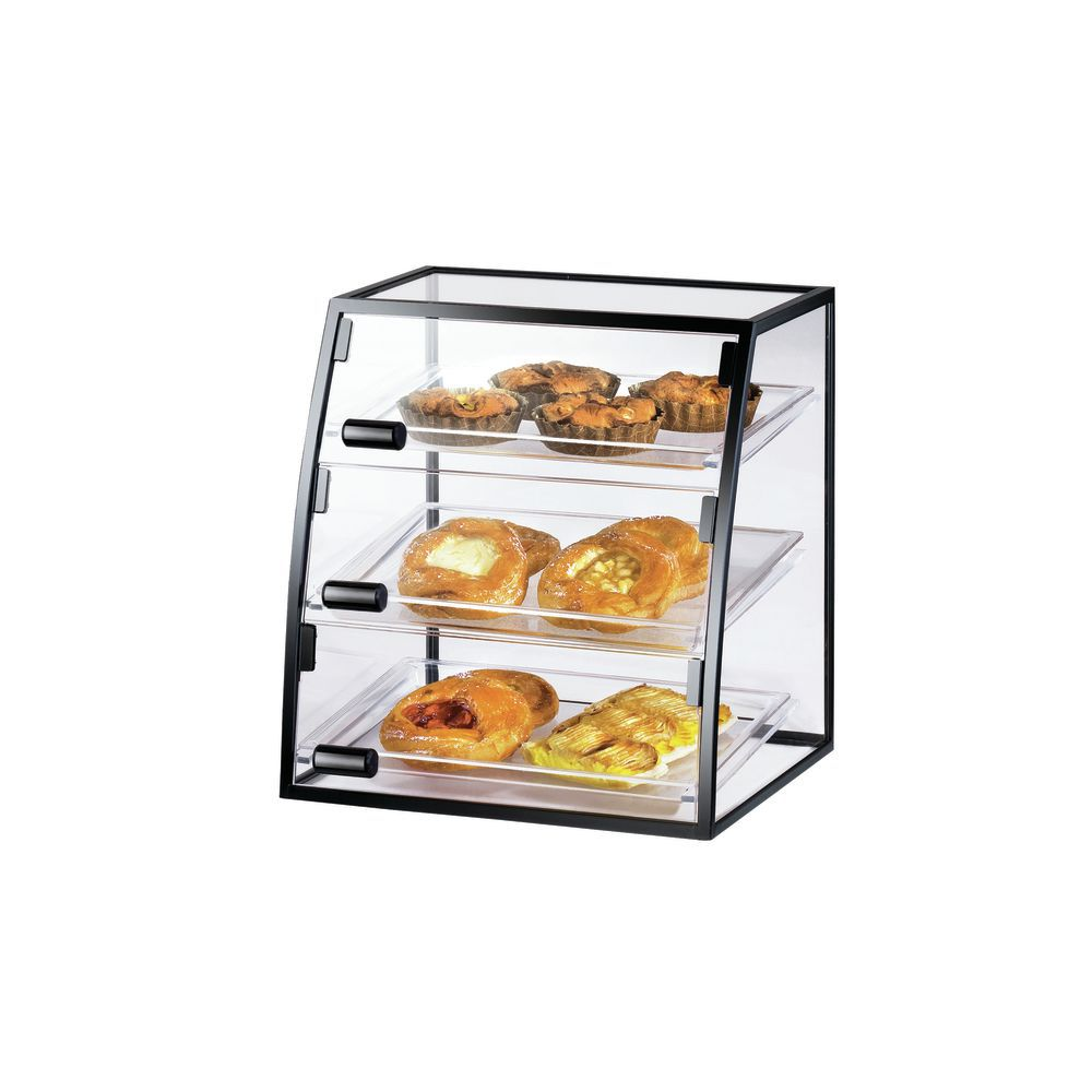Bakery Display Cabinet Cal Mil Mission Style Collection Black Metal Countertop Bakery Display Case 16