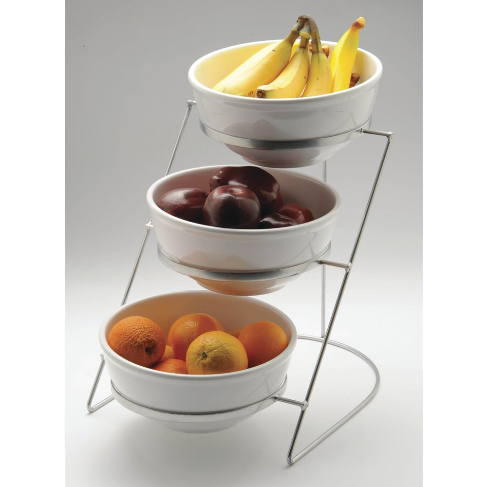 Wire Fruit Bowls Silver Wire Fruit Stand With Three 10