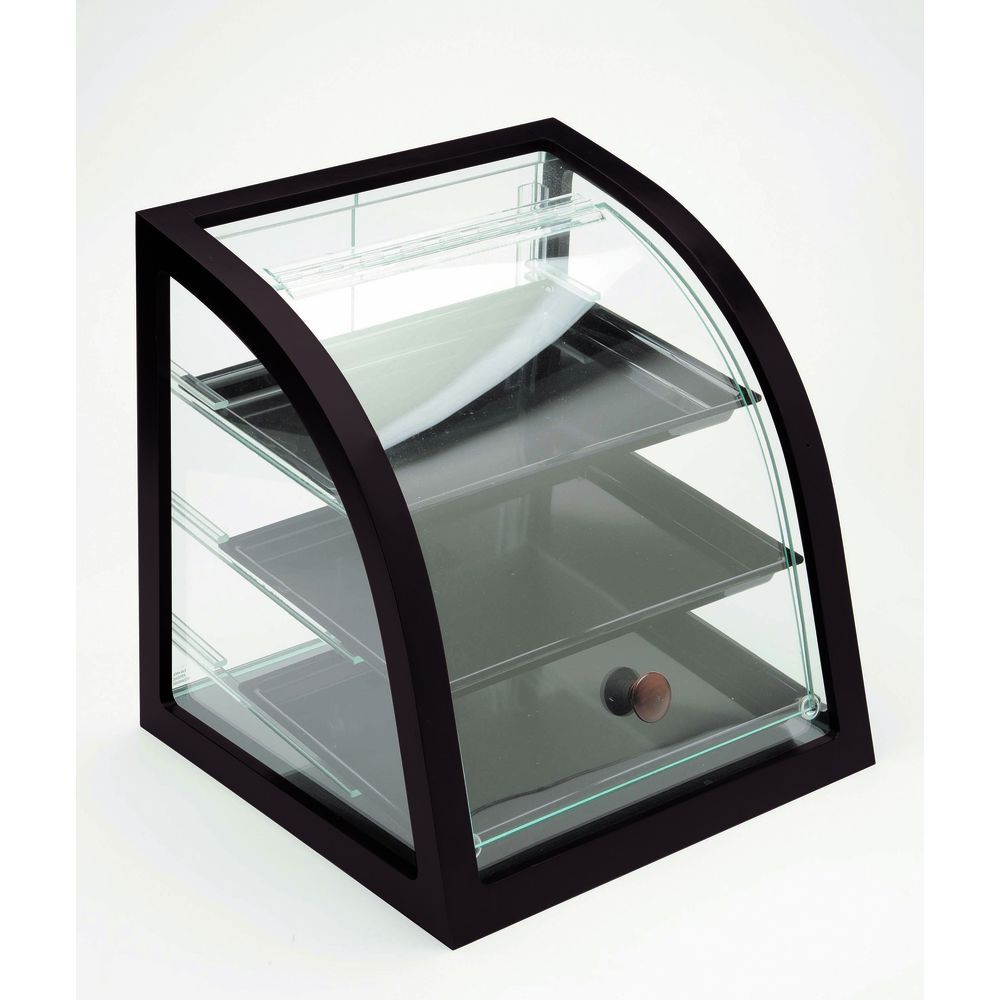 Countertop Food Display Case Cal Mil Midnight Collection Black Wood Bakery Display Case 17