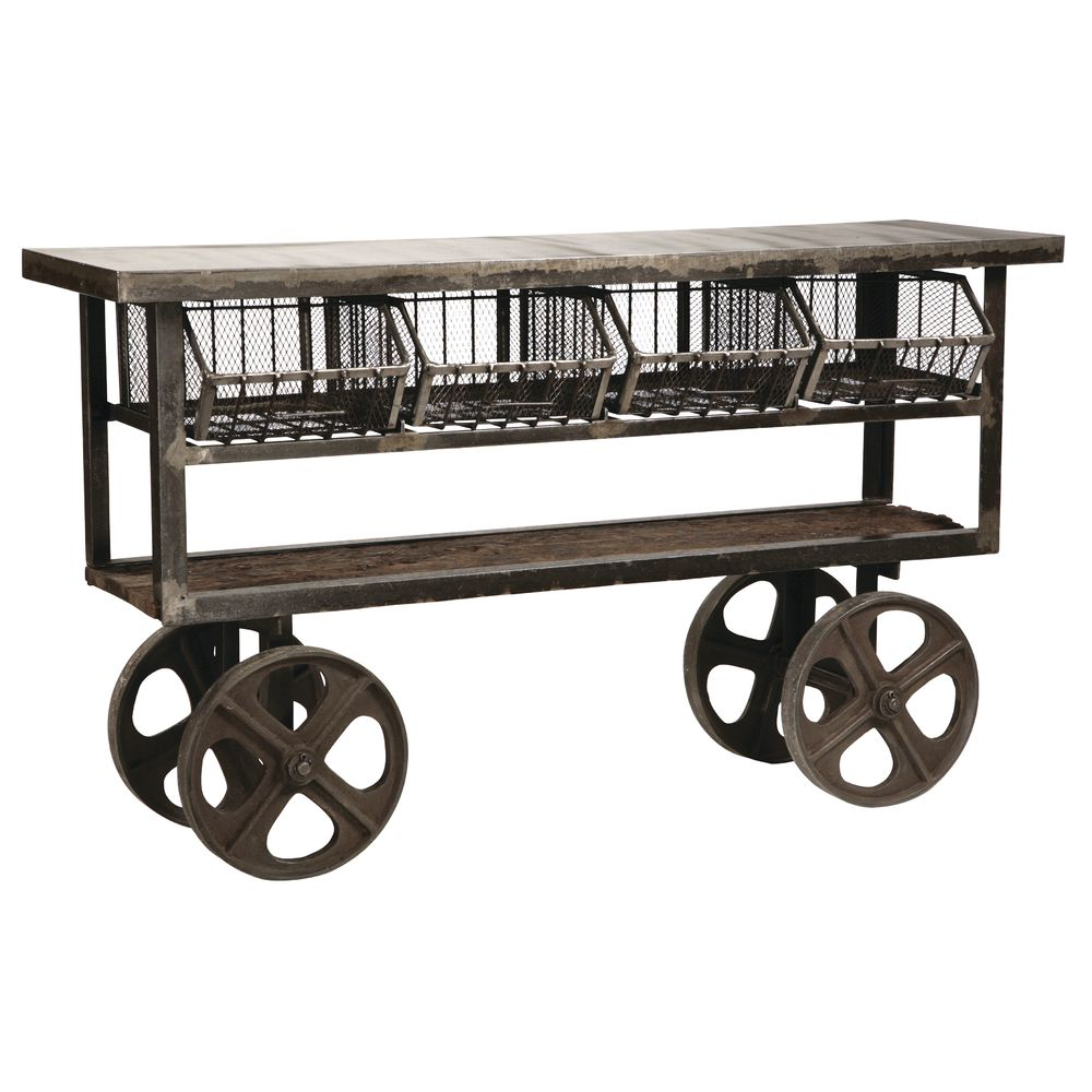 A Frame Trolley Industrial Steel Trolley