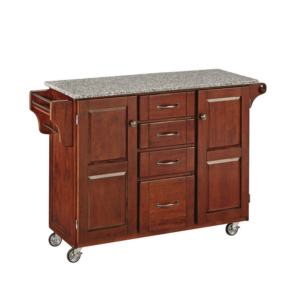 Portable Kitchen Island With Granite Top Granite Top Portable Kitchen Island