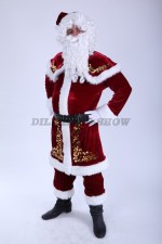 3805. Санта Клаус в удлиненной шубе