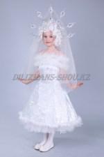 1130. Платье снежинки