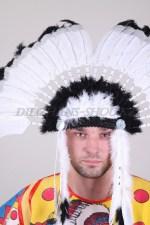 1704 головной убор индейца