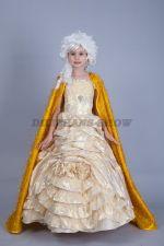 Принцесса в золотом платье
