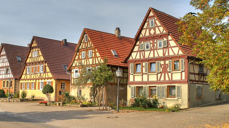 каркасные дома в других странах